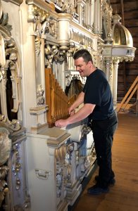 Jeffrey Verbeeck begins work on Mortier Repairs