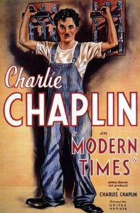 "The Music House Presents Charlie Chaplin's ""Modern Times"" Accompanied by Andrew Rogers @ The Music House Museum"
