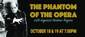 The Music House Museum Presents Phantom of the Opera with Andrew Rogers @ The Music House Museum