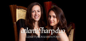 The Music House Presents The Atlantic Harp Duo on October 23, 2019 at 7:00PM. @ The Music House Museum