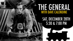 """Buster Keaton's """"The General"""" with Organist Dave Calendine @ The Music House Museum"""